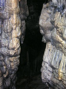 Further example of cave formations within Mount Dykti Cave