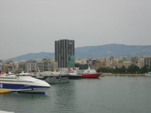 A view of the Piraeus