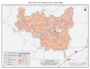Map 4: Aspect Map